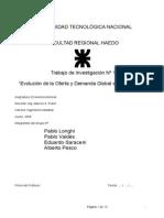 Oferta & Demanda Global