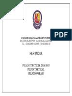 Cover Pelan Strategik, Taktikal Dan Operasi Hem