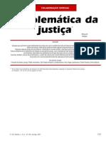 Problemática Da Justiça - Miguel Reale