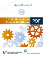 Risk Management in Mental Health