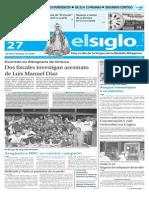 Edicion Impresa El Siglo 27-11-15