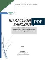 Infracciones y Sanciones Tributarias