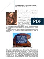 Fundación de la ciudad de Posadas, Misiones, Argentina
