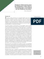 Abramovich Estandares Interamericanos Politicas Sociales