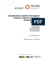 111 Complications Audit of Urological Issues in Spinal Cord Injury Evaluation Study - CAUSES