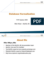 Database Normalisation