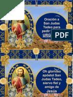 Para Obtener Trabajo Urgente Oracin Efectiva a San Judas Tadeo