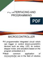 Intro arduino  (PC Interfacing)
