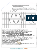 Série d'exercices  - Physique oscillations électriques libres non amorties - Bac Sciences exp (2013-2014) Mr Rouabhia.pdf