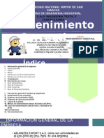 ABLIMATEX_Mantenimiento