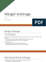 Session 15. Merger Arbitrage (1)