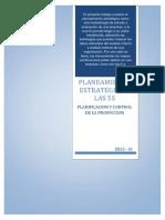 Planeamiento Estrategico y Las 5s