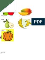 Frutas de Andy