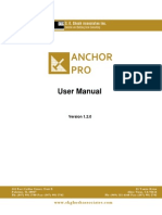 AnchorPro Manual