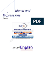 Thousand MCQ Idioms & Phrases