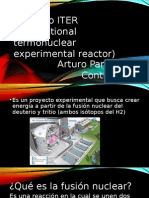 Proyecto ITER International Termonuclear Experimen