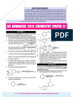 JEE-Advance Chemistry 2015 Paper 2