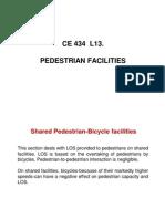 CE 434 L13 Pedestrians