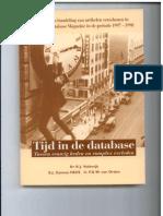 Cover Tijd in de Database
