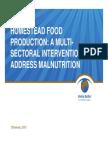 Homestead Food Production