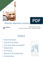 Sesión clínica lumbalgia