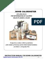 MANUAL FOR BOMB CALORIMETER.doc
