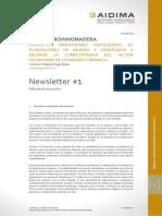 Newsletter 1 proyecto PROINNOMADERA