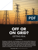 On or Off Grid - Homepower