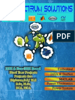 IEEE 2015-16 PROJECT LIST BY SPECTRUM SOLUTIONS PONDICHERRY.....