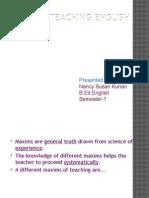 Maxims of Teaching english.pptx