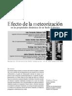 Efecto Meteorización