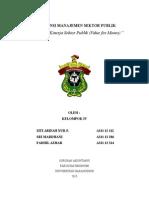 Pengukuran Kinerja Sektor Publik value for money.docx