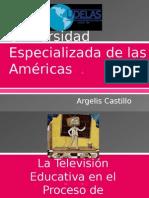 La Televisión Educativa en El Proceso de Enseñanza