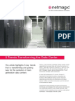 5 Trends Transforming the Data Center - Netmagic