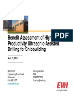 042313 Ultrasonic Drilling Project Review