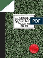 R. Crumb Sketchbooks - V7-12 - Teaser