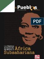 Los Objetivos de Desarrollo del Milenio en África Subsahariana
