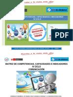 MATRIZ DE COMPETENCIAS Y CAPACIDADES E INDICADORES PARA EL IV CICLO.pdf