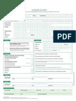 Via Verde-Formulario Alteracao de Dados