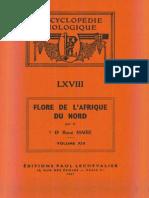 Flore de l'Afrique Du Nord (Maroc, Algérie, Tunisie, Tripolitaine, Cyrénaïque Et Sahara), Vol. 13, R. Maire (1967)