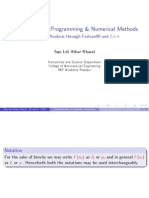 Math306&307 - Neumerical Analysis - Lec 2 - Regula Falsi