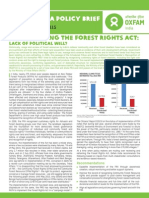 Implementing the Forest Rights Act