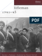 (Warrior ) Gordon Rottman, Howard Gerrard-Soviet Rifleman 1941-45-Osprey Publishing (2007)