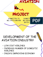 AVIATION                                          PROJECT.ppt