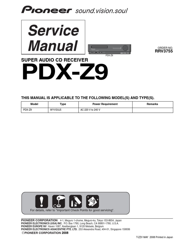 Pdx z9 Rrv3755 | Compact Disc | Mp3