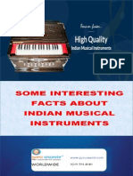Some Interesting Facts About Indian Musical Instruments