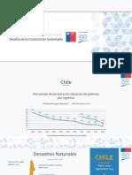 Desafíos de la Construcción Sustentable - Juan Pablo Yumha, Ministerio de Vivienda y Urbanismo, Chile