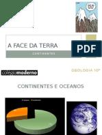 A Face Da Terra - Continentes