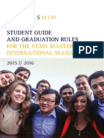 Cems Student Guide 2015/16
