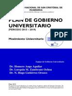Plan de Gobierno San Cristóbal Por El Cambio
